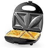 Gotoll Sandwichmaker 700W, Dreieckig...