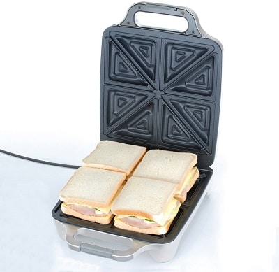 Cloer 6269 Sandwichmaker XXL Test